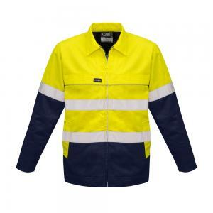 Mens Hi Vis Cotton Drill JacketHi Vis Cotton Drill Jacket - Syzmik