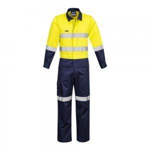 Mens Rugged Cooling Taped Hi Vis Overall