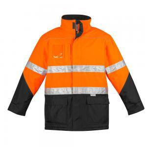 Mens Hi Vis Waterproof Storm Jacket