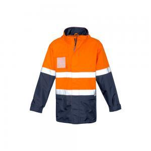 Mens Hi Vis Ultralite Waterproof Jacket - Syzmik Workwear